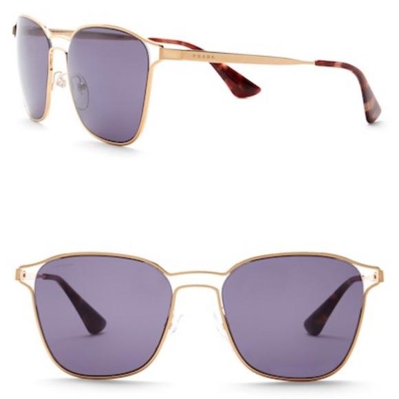 86bbb47832 Prada pillow square aviator sunglasses